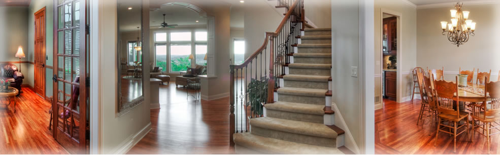 Stunning Architectural Ideas - Custom staircase designs, dining rooms, and great rooms.